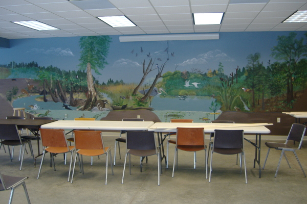 Basement classroom
