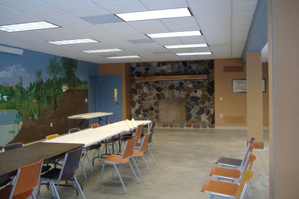 Basement classroom 2